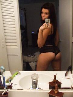Подборка эротических селфи обнажённых милашек секс фото и порно фото