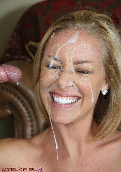 Подборка снимков цыпочек со спермой на лице секс фото и порно фото